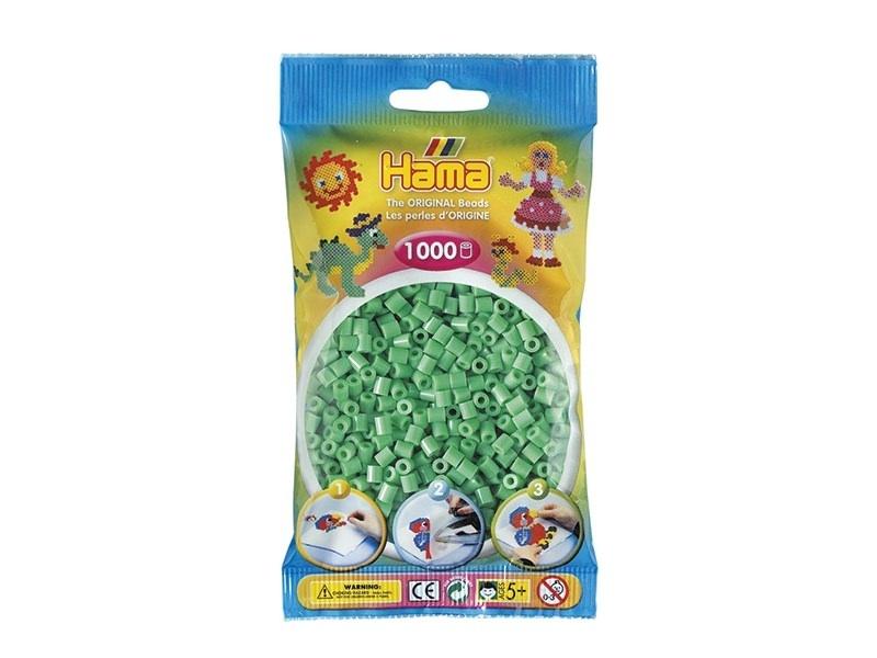 Bag of 1,000 HAMA MIDI beads - light green Hama - 1