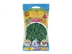 Bag of 1,000 HAMA MIDI beads - green Hama - 1