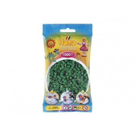 Sachet de 1000 perles HAMA Midi - Vert 10 Hama - 1