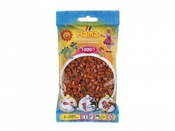 Bag of 1,000 HAMA MIDI beads - caramel Hama - 1