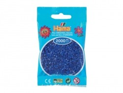 Bag of 1,000 HAMA MIDI beads - blue