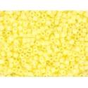 Miyuki delicas 11/0 - jaune citron opaque 2101