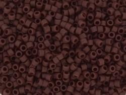 Miyuki delicas 11/0 - marron mat opaque 1584