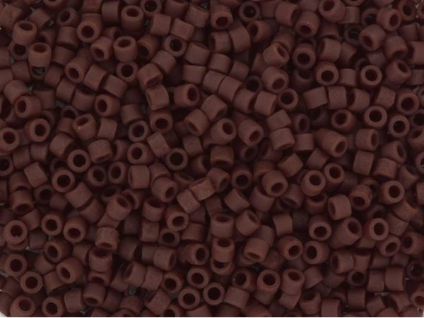 Miyuki delicas 11/0 - marron mat opaque 1584  - 1