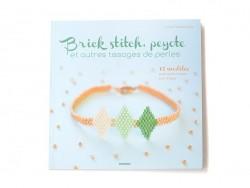 Livre Brick Stitch, peyote et autres tissages de perles Marabout - 1