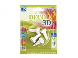 4 Aufsätze für 3D-Déko-Tuben