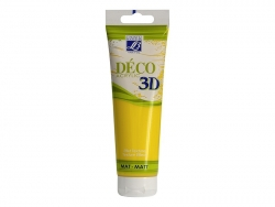 Déco 3D-paint - canary yellow (120 ml)
