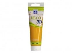 3D-Déco-Farbe - gelborange (120 ml)