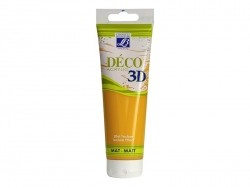 Déco 3D-paint - honey yellow (120 ml)