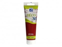 3D-Déco-Farbe - erdbeerrot (120 ml)