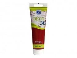 Peinture Déco 3D - rouge fraise - 120 ml