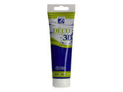 Déco 3D-paint - navy blue (120 ml)