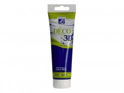 Peinture Déco 3D - bleu marine - 120 ml