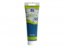 Déco 3D-paint - Yale blue (120 ml)
