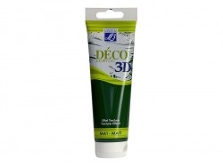 Déco 3D-paint - fir green (120 ml)