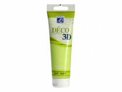 Déco 3D-paint - apple green (120 ml)