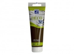 3D-Déco-Farbe - schokoladenfarben (120 ml)