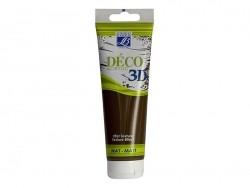 Peinture Déco 3D - chocolat - 120 ml