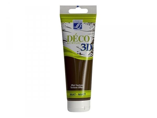 Acheter Peinture Déco 3D - chocolat - 120 ml - 6,50€ en ligne sur La Petite Epicerie - 100% Loisirs créatifs