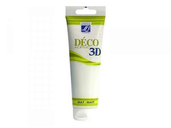 Acheter Peinture Déco 3D - blanc chantilly - 120 ml - 6,50€ en ligne sur La Petite Epicerie - 100% Loisirs créatifs