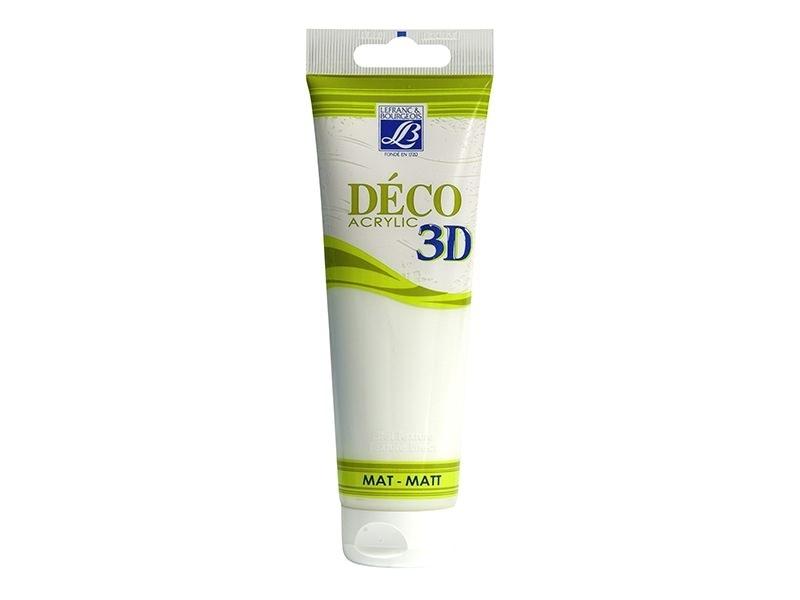 Acheter Peinture Déco 3D - blanc chantilly - 120 ml - 6,50€ en ligne sur La Petite Epicerie - Loisirs créatifs