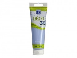 3D-Déco-Farbe - alpinblau (120 ml)