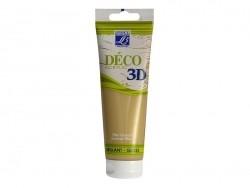 3D-Déco-Farbe - goldfarben (120 ml)