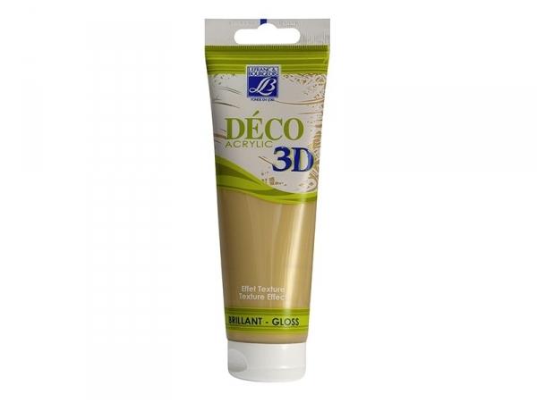 Peinture Déco 3D - or - 120 ml