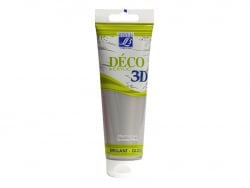 Déco 3D-paint - silver (120 ml)