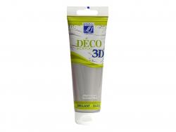Peinture Déco 3D - argent - 120 ml