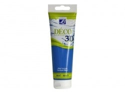 Déco 3D paint - royal blue (120 ml)