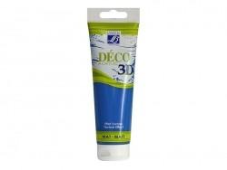 Peinture Déco 3D - bleu manganèse - 120 ml