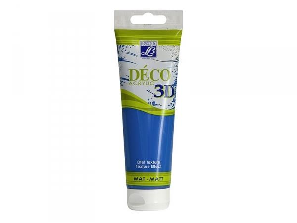Acheter Peinture Déco 3D - bleu manganèse - 120 ml - 6,50€ en ligne sur La Petite Epicerie - 100% Loisirs créatifs