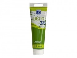 3D-Déco-Farbe - laubgrün (120 ml)