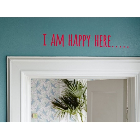 """Wall sticker - """"Today is fun"""""""