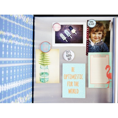 """Magnetic notebook - """"Remember"""""""