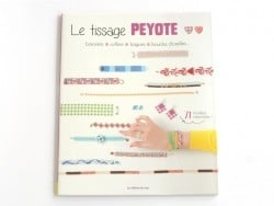 "Livre ""Le tissage peyote"""