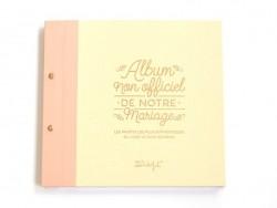 Album photos de mariage - français