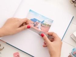 Honeymoon photo album (in French)
