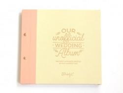 Album photos de mariage - anglais Mr Wonderful  - 1