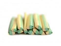 Italian ice-cream cane - pistachio