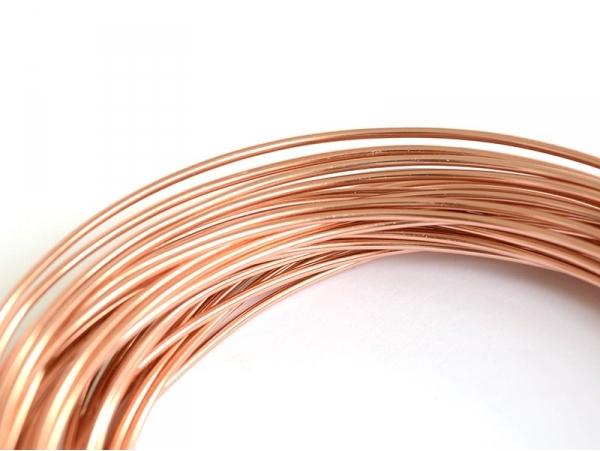 10 m of aluminium wire - orange