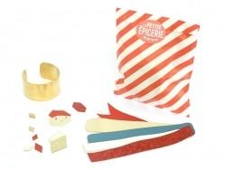 Kit manchette cuir - pastel