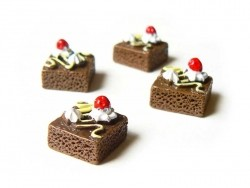 Brownie cabochon
