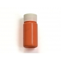 Petit flacon de peinture orange fluo