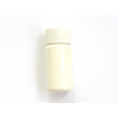 Small paint bottle - white