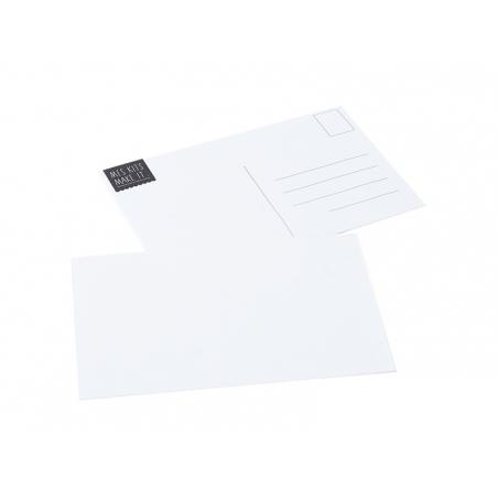 Carte postale blanche La petite épicerie - 1