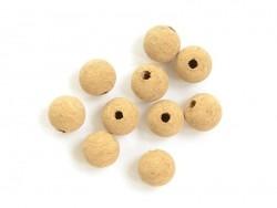 10 cork beads