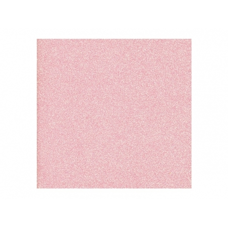 Feuille de scrapbooking - rose paillettes