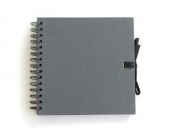 Small scrapbooking album - black cardboard